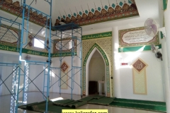 Kaligrafi Masjid Al-Jadid Cilebut Bogor