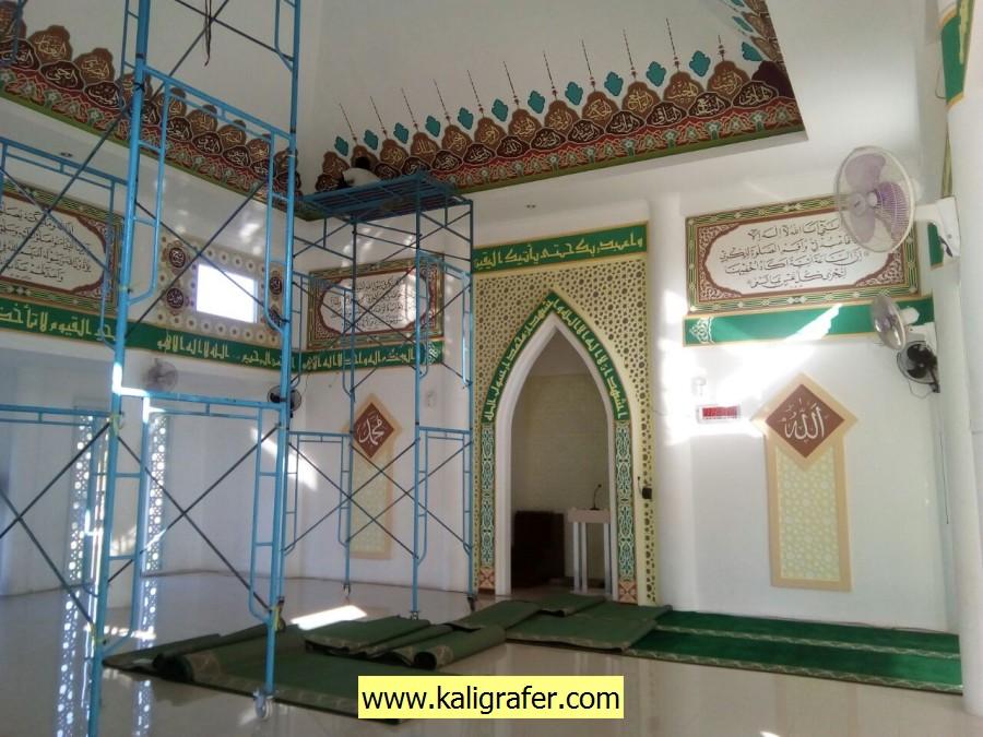 jasa kaligrafi masjid bekasi