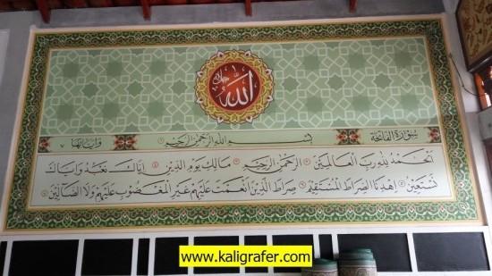 ✔️ Jasa Kaligrafi | ✔️ Kaligrafi Masjid | ✔️ Ornamen GRC | 7