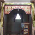 kaligrafi mihrab masjid SMA Negeri 1 Kab Bogor