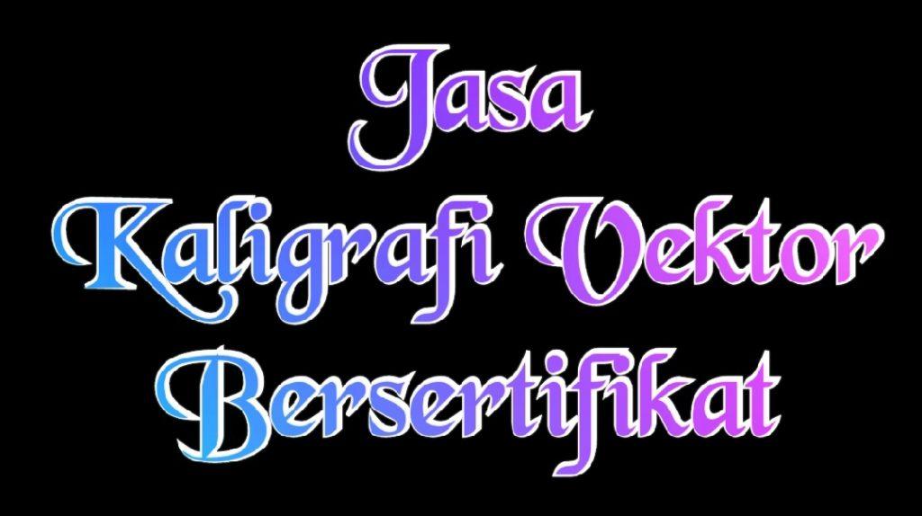 kaligrafi vektor arab
