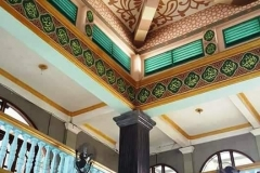 kaligrafi-kubah-masjid-dan-lukisan-awan-kubah-masjid-2
