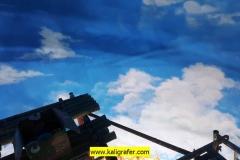 kaligrafi-kubah-masjid-dan-lukisan-awan-kubah-masjid-4
