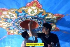 kaligrafi-kubah-masjid-dan-lukisan-awan-kubah-masjid-5