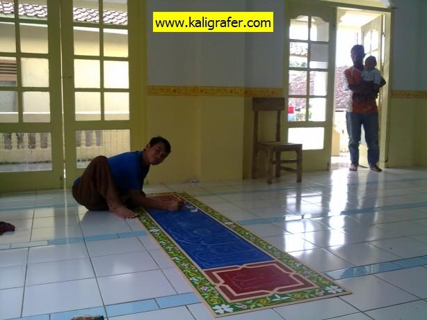 Kaligrafi-Masjid-Karawang-Kulon-Tripleks-3