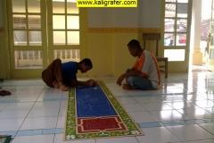 Kaligrafi Masjid Karawang Kulon Selabintana Sukabumi Tripleks
