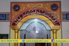 Contoh-desain-gambar-mihrab-masjid-yang-sudah-dilukis-kaligrafi