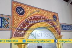 Desain-Mihrab-dan-kaligrafi-mihrab